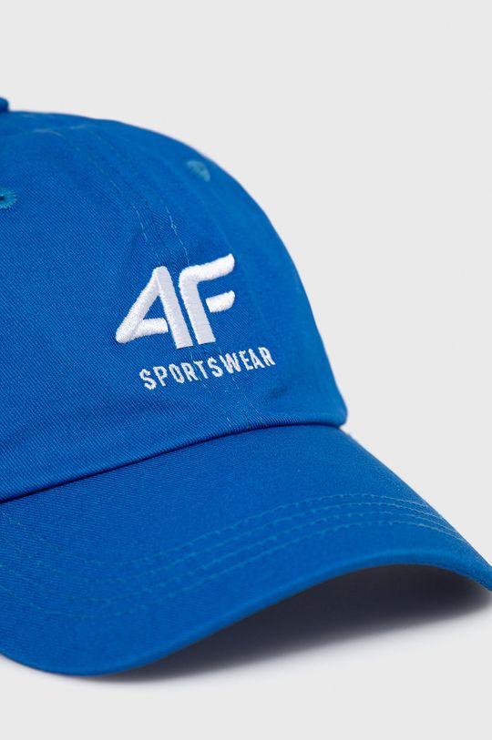 4F - Czapka niebieski