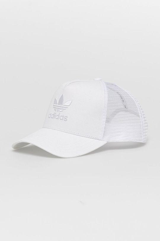 biały adidas Originals - Czapka Męski