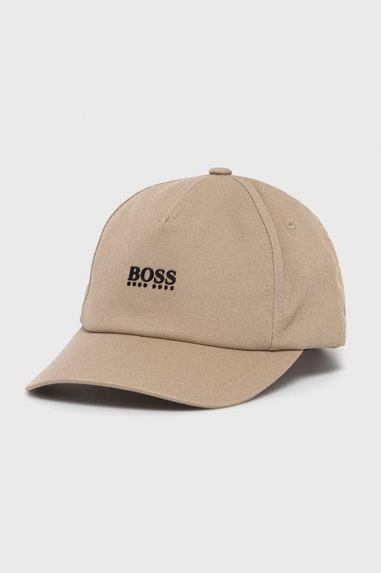 beżowy Boss - Czapka BOSS CASUAL Męski