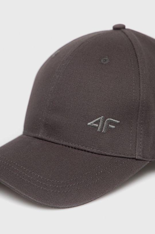 4F - Čiapka sivá