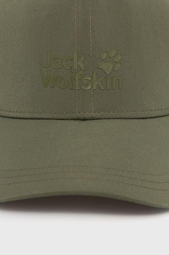 Jack Wolfskin - Čepice tlumená zelená