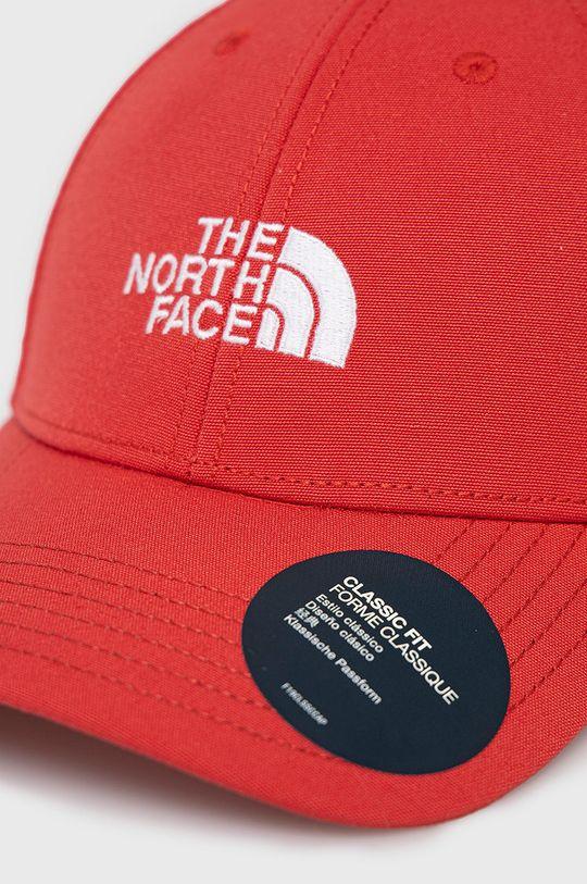 The North Face - Czapka czerwony