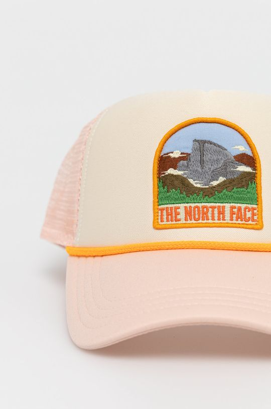 The North Face - Czapka czerwony róż