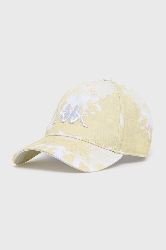 żółty Kappa - Czapka z daszkiem Unisex