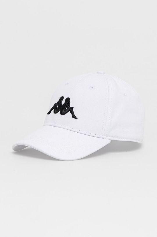 biały Kappa - Czapka Unisex
