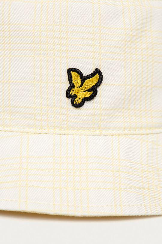 Lyle & Scott - Kapelusz żółty