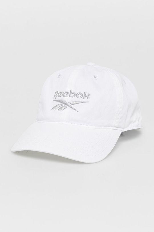 biały Reebok - Czapka Unisex