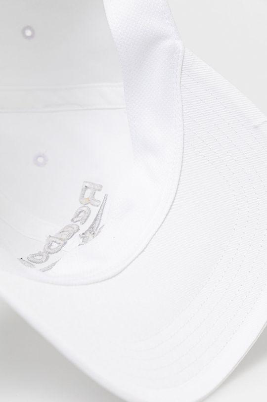 biały Reebok - Czapka