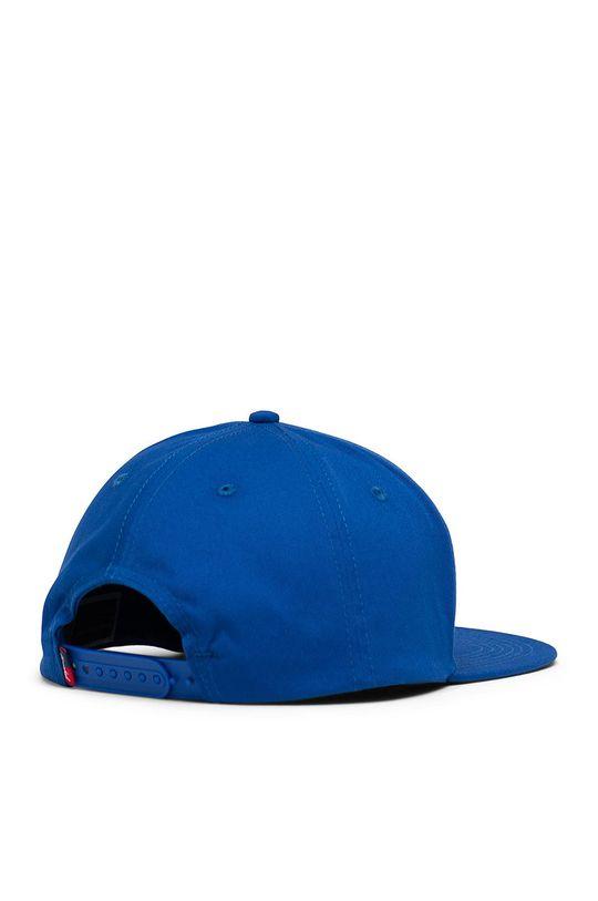 Herschel - Czapka z daszkiem niebieski