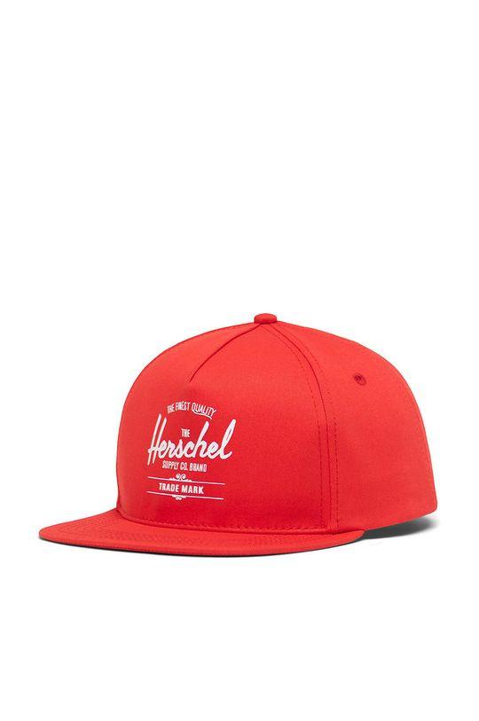 czerwony Herschel - Czapka z daszkiem Unisex