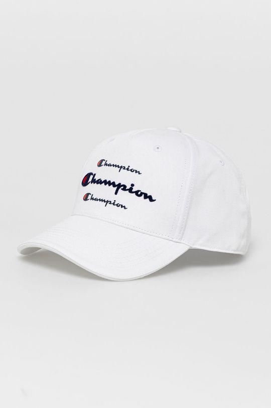 biały Champion - Czapka z daszkiem Unisex