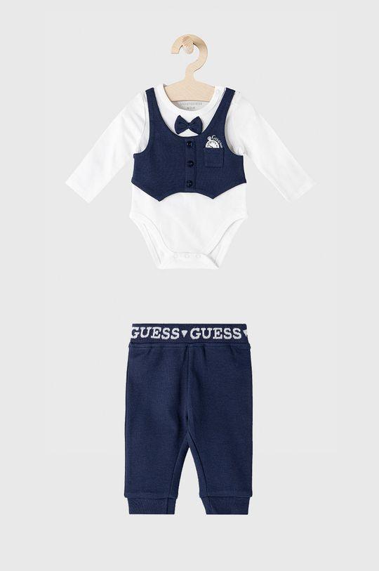 biały Guess - Komplet dziecięcy Chłopięcy