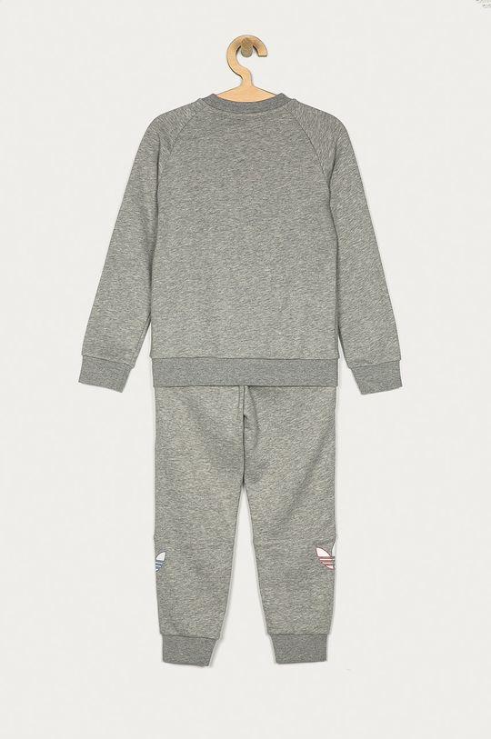 adidas Originals - Dětská tepláková souprava 104-128 cm světle šedá