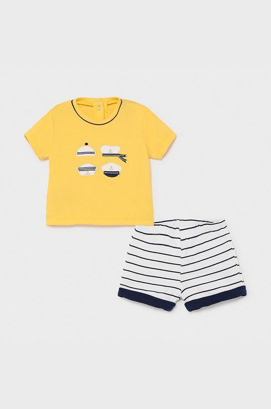 galben Mayoral Newborn - Compleu copii De băieți