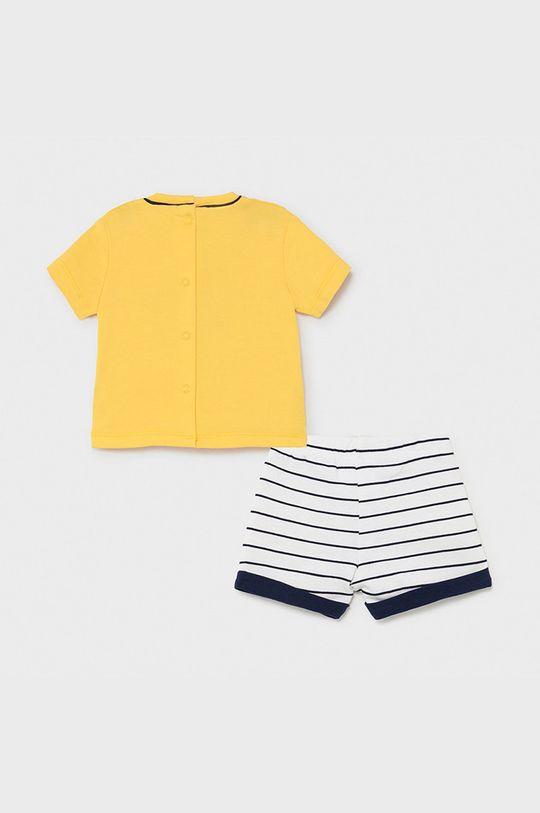 Mayoral Newborn - Compleu copii galben