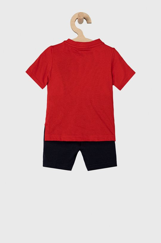 adidas Performance - Komplet dziecięcy 62-104 cm czerwony