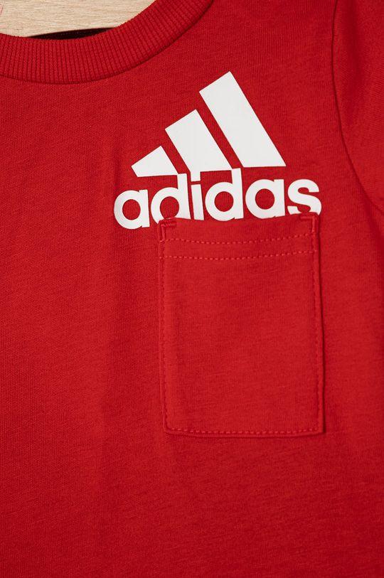 czerwony adidas Performance - Komplet dziecięcy 62-104 cm