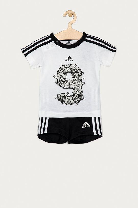 biały adidas Performance - Komplet dziecięcy 62-104 cm Chłopięcy
