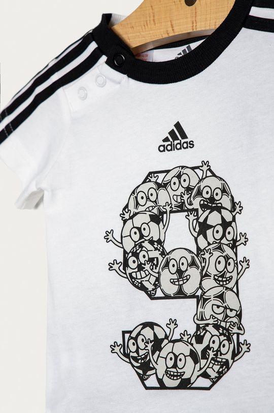 biały adidas Performance - Komplet dziecięcy 62-104 cm