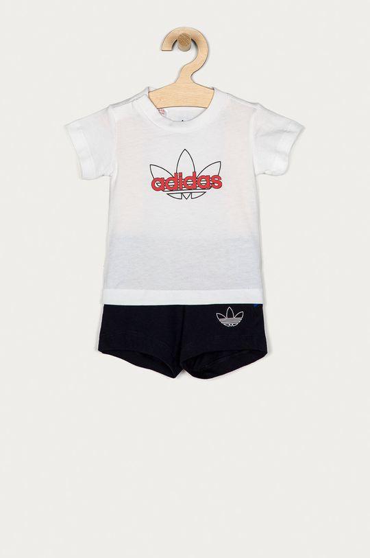 alb adidas Originals - Trening copii 62-104 cm De băieți