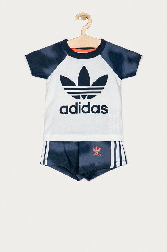 granatowy adidas Originals - Komplet dziecięcy 62-104 cm Chłopięcy