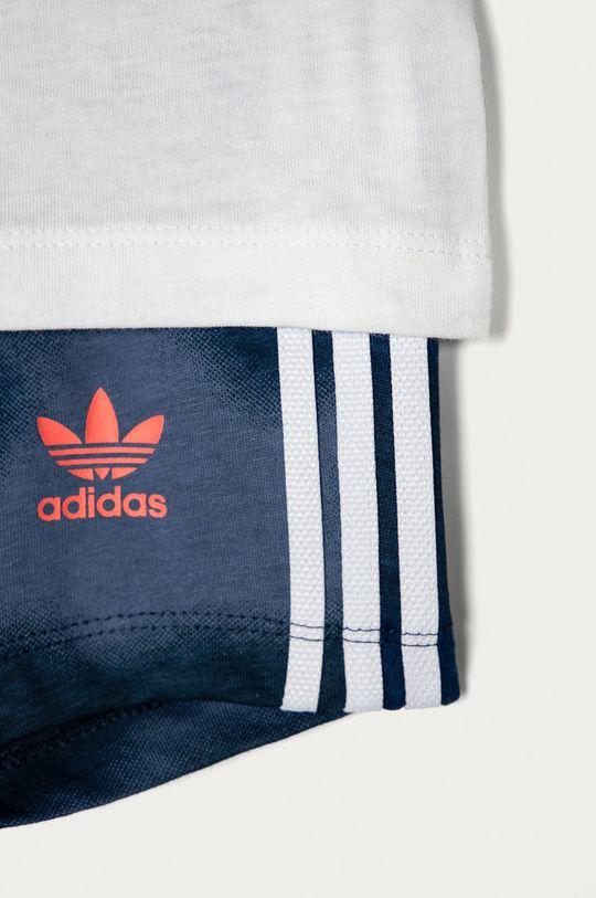 granatowy adidas Originals - Komplet dziecięcy 62-104 cm