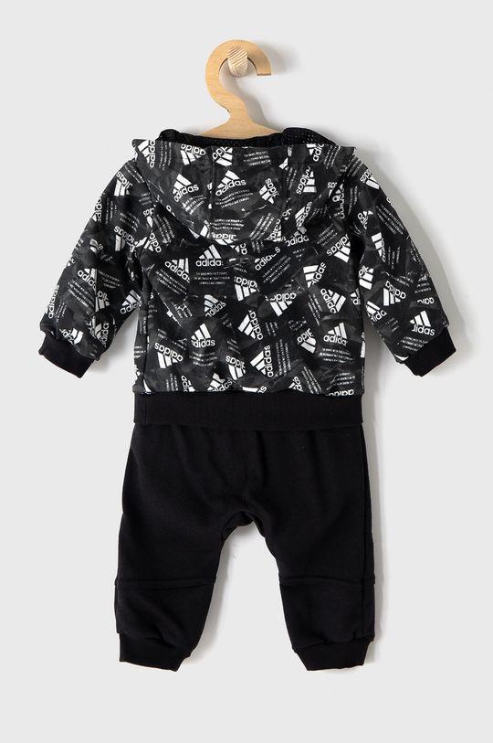 adidas Performance - Dětská tepláková souprava černá