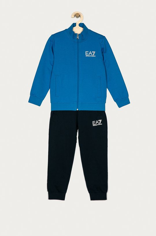 modrá EA7 Emporio Armani - Detská súprava Chlapčenský