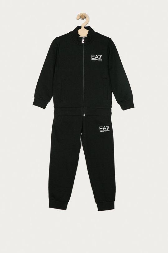čierna EA7 Emporio Armani - Detská súprava Chlapčenský