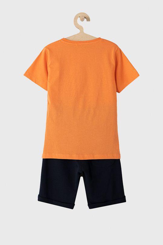 Name it - Komplet dziecięcy 122-164 cm pomarańczowy