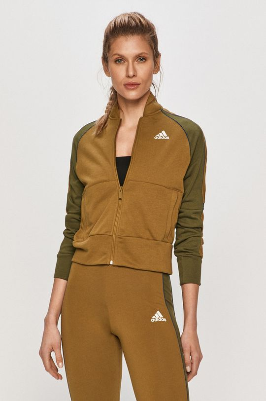 adidas Performance - Dres oliwkowy