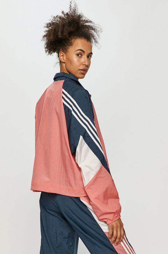 różowy adidas Performance - Dres
