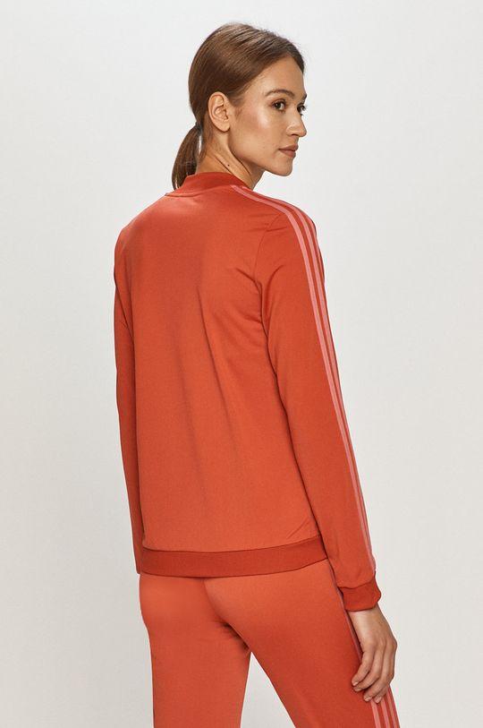 czerwony adidas - Dres