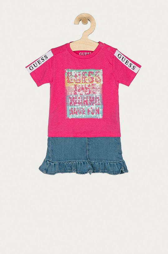 różowy Guess - Komplet dziecięcy 62-96 cm Dziewczęcy