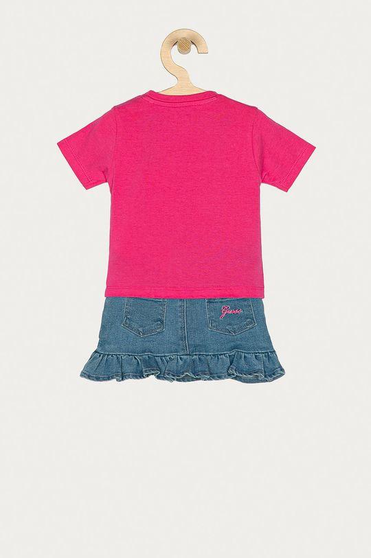 Guess - Komplet dziecięcy 62-96 cm różowy