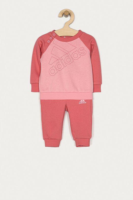 różowy adidas - Dres dziecięcy 62-104 cm Dziewczęcy