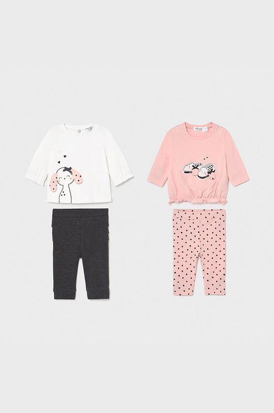 pastelowy różowy Mayoral Newborn - Komplet dziecięcy (4-PACK) Dziewczęcy