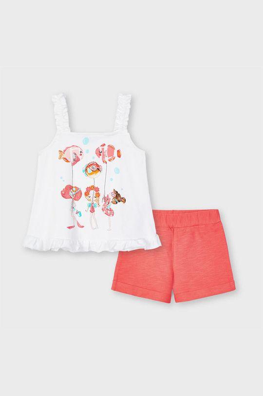 koralowy Mayoral - Komplet dziecięcy Dziewczęcy