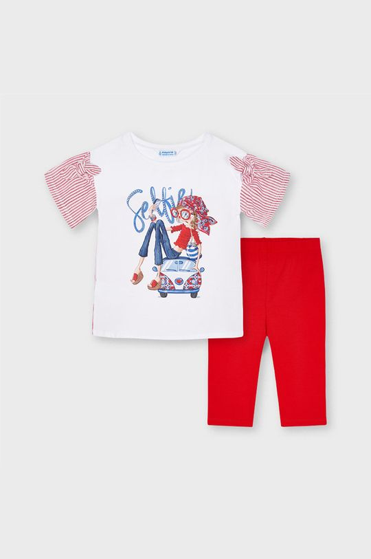 czerwony Mayoral - Komplet dziecięcy Dziewczęcy