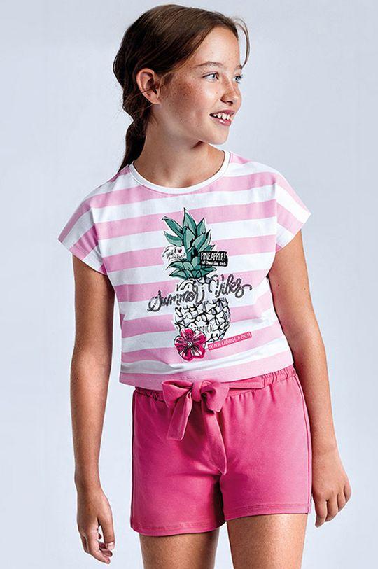 różowy Mayoral - Komplet dziecięcy Dziewczęcy