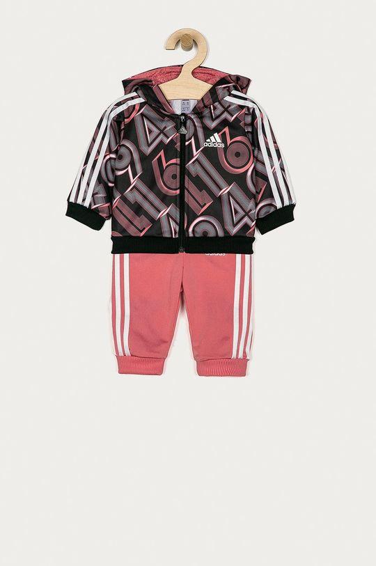 růžová adidas Performance - Dětská tepláková souprava 62-104 cm Dívčí