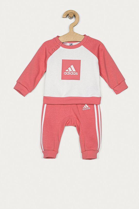 ružová adidas Performance - Detská súprava 62-104 cm Dievčenský