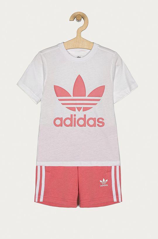 ružová adidas Originals - Detská súprava 104-128 cm Dievčenský