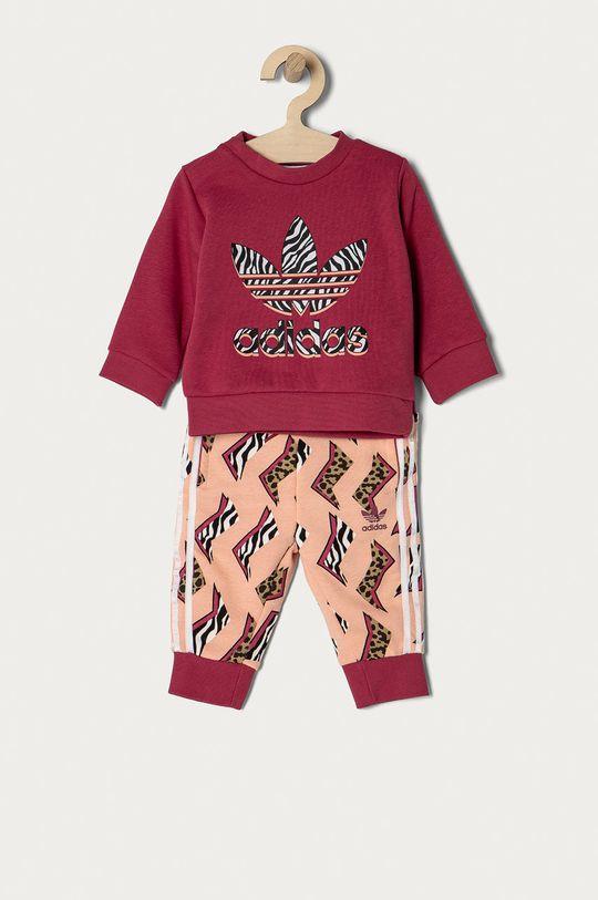 różowy adidas Originals - Komplet dziecięcy 62-104 cm Dziewczęcy