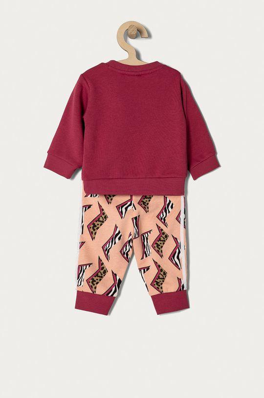 adidas Originals - Komplet dziecięcy 62-104 cm różowy