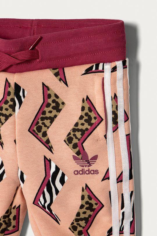 różowy adidas Originals - Komplet dziecięcy 62-104 cm