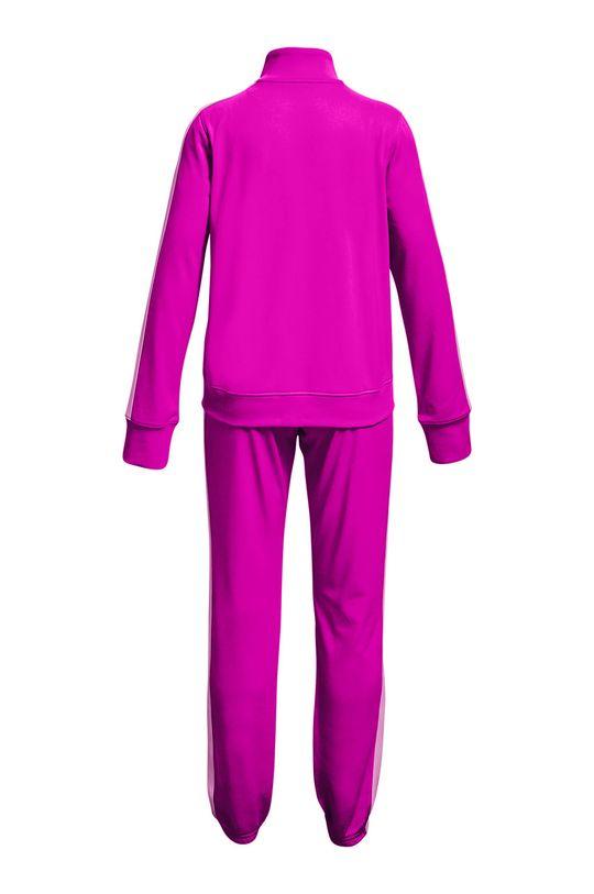 Under Armour - Komplet dziecięcy Knit Track Suit ostry różowy
