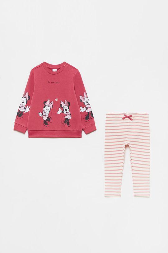 purpurowy OVS - Komplet dziecięcy Dziewczęcy