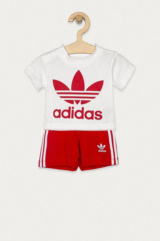 rosu adidas Originals - Compleu copii 62-104 cm De copii