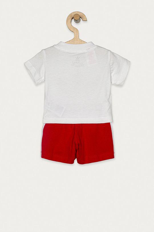 adidas Originals - Compleu copii 62-104 cm rosu